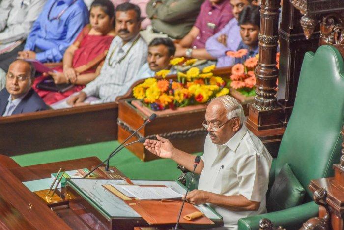Karnataka Assembly Speaker K R Ramesh Kumar (DH Photo)