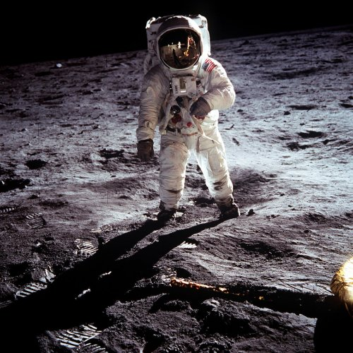 Buzz Aldrin recalls the first moments of the Apollo 11 launch being so smooth that he and his two crewmates. (Reuters File Photo)