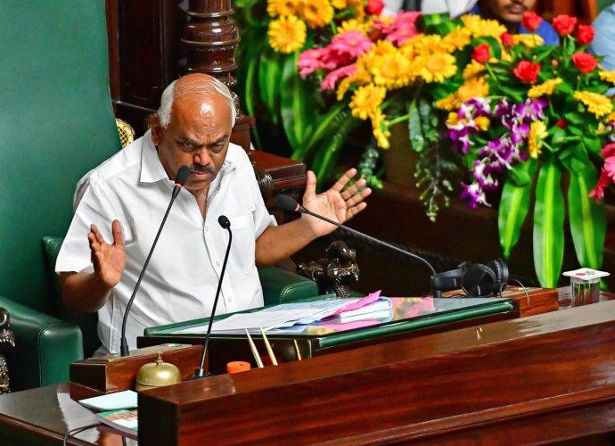 Speaker K R Ramesh Kumar. (DH Photo)