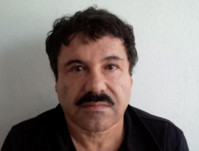 The Mexican drug lord is known as 'El Chapo' (AFP Photo)