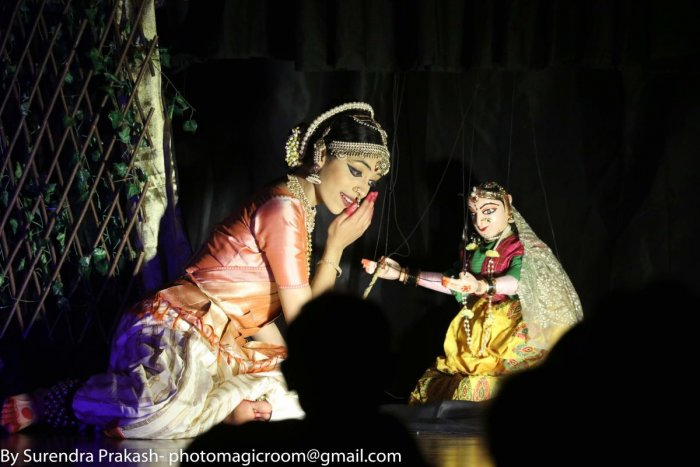 A puppet and dance musical performed by Anupama Hoskere's team in Los Angeles.