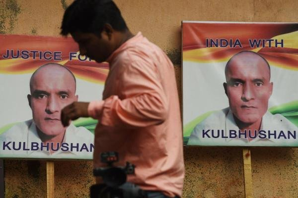 The International Court of Justice has stayed the death sentence of Kulbhushan Jadhav. Photo credit: AFP