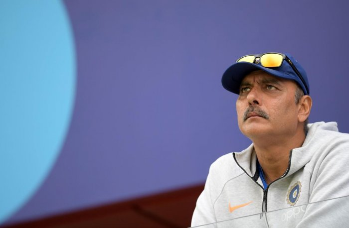 File photo of Ravi Shastri during the ICC World Cup 2019. Photo credit: AFP