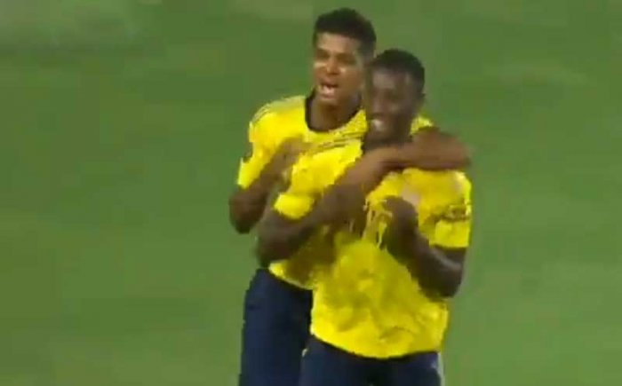 The Gunners finished off a rapid passing sequence in the 88th minute that culminated with teenager Tyreece John-Jules slipping the ball to the 20-year-old Nketiah who scored via his knee.