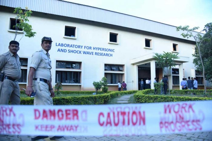 One of the three laboratory blast victims at the Indian Institute of Science (IISc) has been discharged from Ramaiah Memorial Hospital. DH file photo