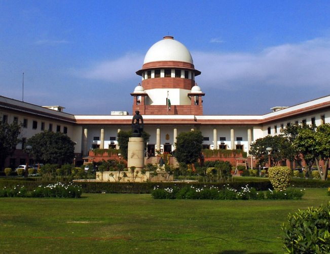 he apex court, which heard the plea, adjourned the matter to a later date without making any comment. PTI file photo.
