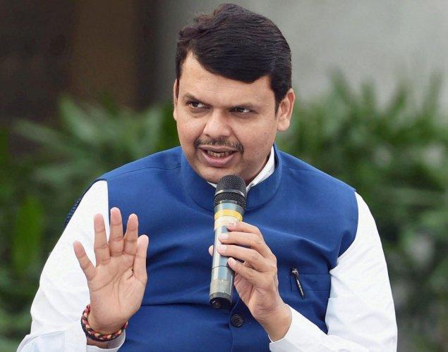 Maharashtra Chief Minister Devendra Fadnavis. PTI file photo