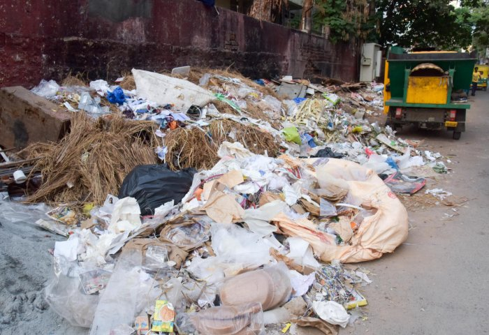 The BBMP has been grappling with the garbage crisis over the years.
