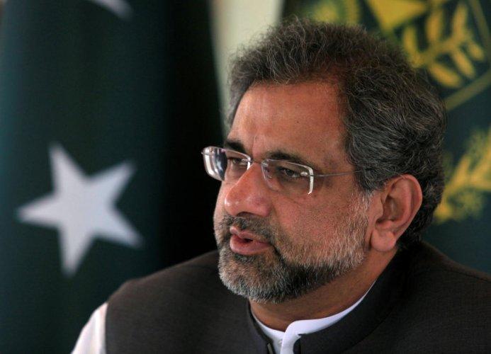 Former Pakistani Prime Minister Shahid Khaqan Abbasi. (Reuters File Photo)
