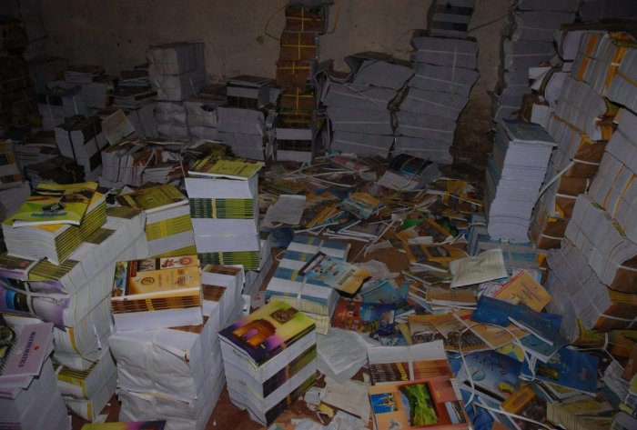 Some schools are said to be demanding money for the textbooks from the parents, though they get the books from the government free of cost.