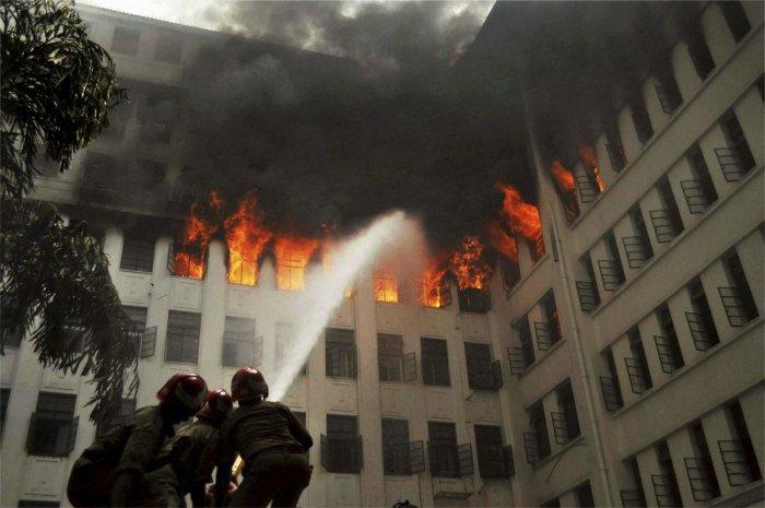 Maharashtra CM's office, 3 floors gutted