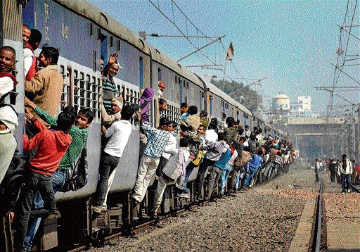 Ruckus in Lok Sabha as railway minister delivers budget speech