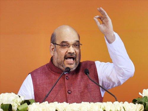 Uproot Congress-NCP govt in Maharashtra: Amit Shah