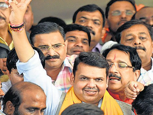 All the best, daddy: Divija wishes the new CM of Maharashtra