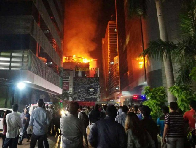 Mumbai blaze: Maharashtra human rights Comm seeks report from BMC