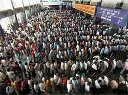 Sale of platform tickets stopped at  Delhi railway stations