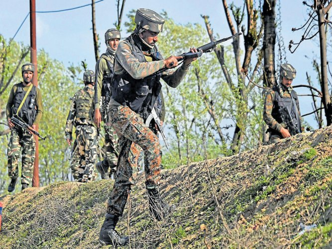 The operation is being spearheaded by C-60, aspecialised unit of the Anti-Naxalite Operations (ANO) and the 9th battalion of the Central Reserve Police Force (CRPF). PTI File Photo
