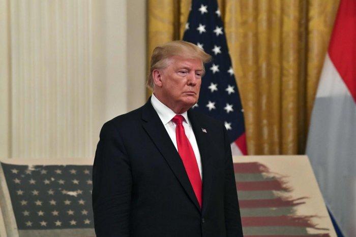 US President Donald Trump. AFP file photo