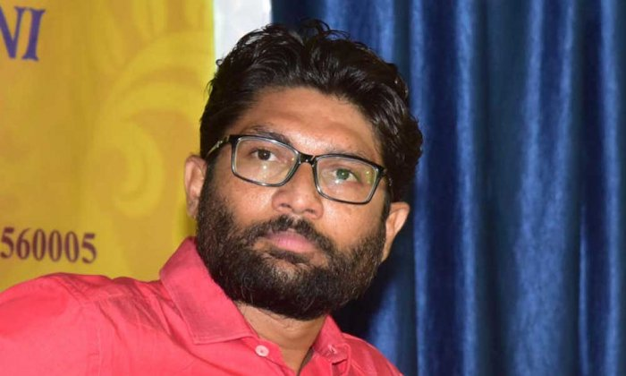 Independent MLA and Scheduled Caste leader Jignesh Mevani. (DH File Photo)