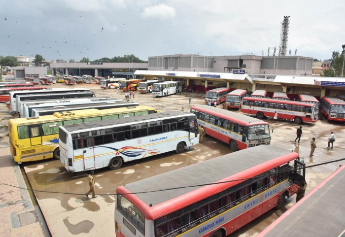 The four state road transport corporations (RTCs), whose proposal to hike student bus pass fare was rejected by the government, have now sought Rs 335 crore to compensate for losses. (DH File Photo)
