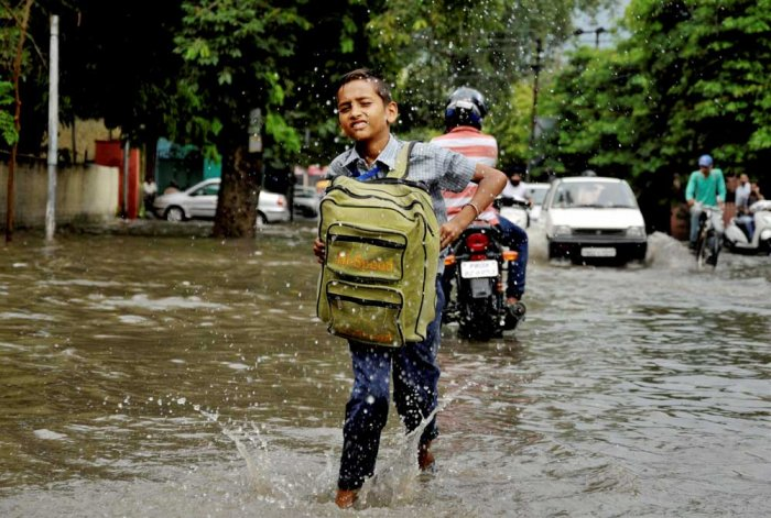 Till about a week ago, Punjab was deficit in rainfall. With incessant rainfall in several parts of the state leading to severe water-logging, Punjab now has received surplus rainfall. (PTI File Photo)