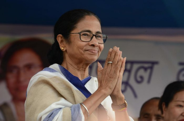 """""""I welcome Jagdip Dhankar (sic) who has been appointed as the new Governor of Bengal. I just now came to know from media about this. I welcome him to our beautiful state,"""" Banerjee wrote on her Twitter handle. (AFP File Photo)"""