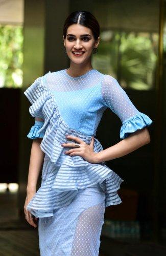 Bollywood actor Kriti Sanon (AFP File Photo)