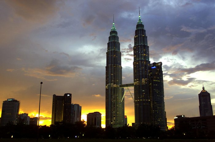 The Petronas Twin towers were the tallest in the world when built (AFP File Photo)