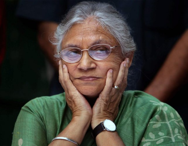 "Mangeshkar remembered the former Delhi CM as a ""remarkable woman"". (PTI File Photo)"