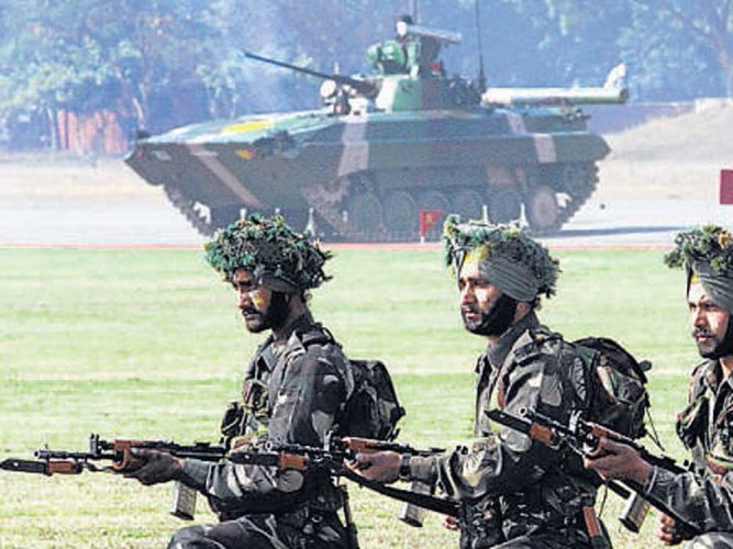 The BJP practice of rotating the venue of India's biennial exposition on military hardware continues unchanged, with the Defence Ministry deciding to hold the 2020 edition at Lucknow – the home of Defence Minister Rajnath Singh. (File Photo)