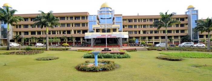 The administrative block of the University of Agricultural Sciences, Dharwad