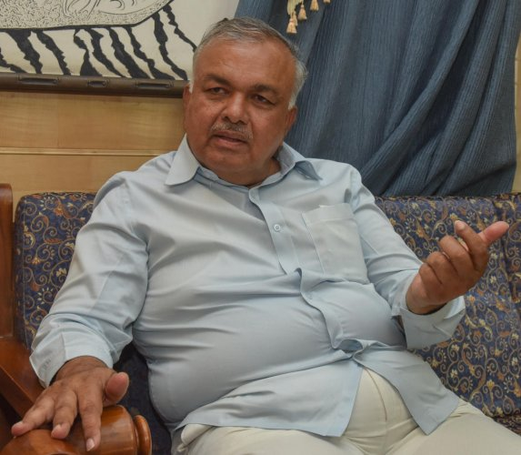 Congress leader Ramalinga Reddy. DH Photo/S K Dinesh