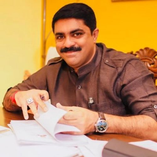 Goa Forward Party chief Vijai Sardesai (File Photo)