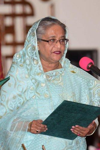 Bangladesh Prime Minister Sheikh Hasina (AFP File Photo)