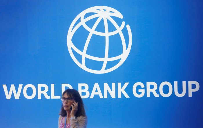 World Bank Group logo (Photo by REUTERS)