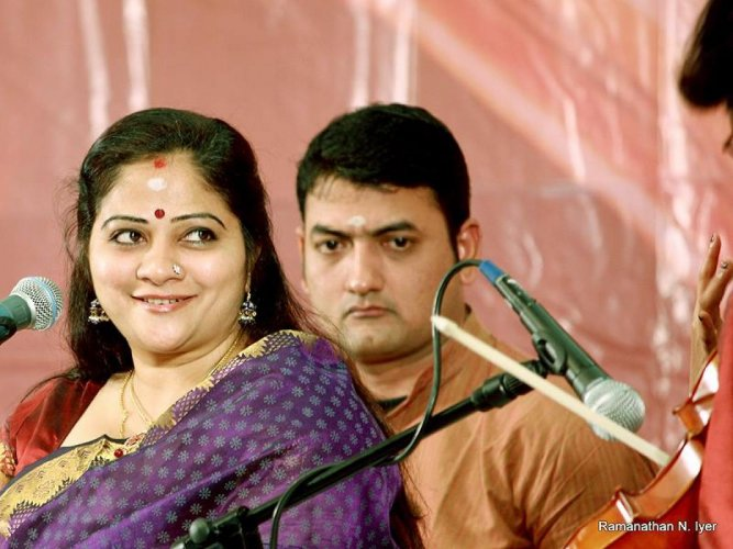 She will be conferred the prestigious award during the 'Margazhi Music Festival' early next year. (Facebook: S Sowmya)