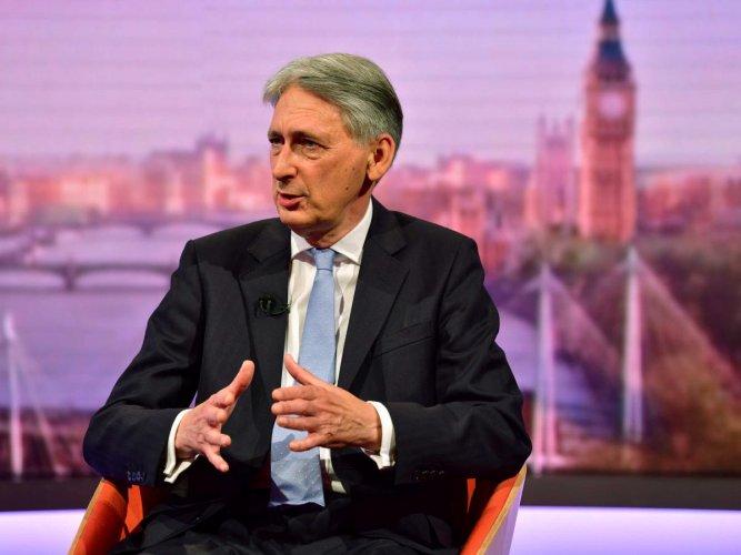 British finance minister Philip Hammond (Reuters Photo)