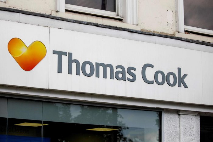 """Earlier on July 12, Thomas Cook Plc had said it was in advanced discussions with China's Fosun Tourism Group as it targets an infusion of 750 million pounds """"which would provide sufficient liquidity to trade over the winter 2019/20 season and the financial flexibility to invest in the business for the future"""". (AFP File Photo)"""