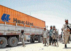 Blockade lifted, Nato trucks cross Pakistan border