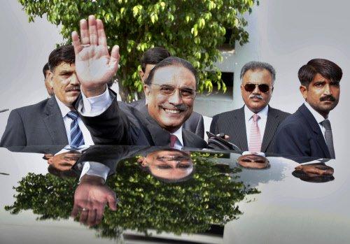 Zardari steps down as Pakistan's President