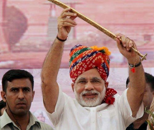 Shun anti-India attitude: Modi tell Pakistan