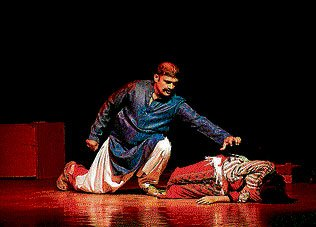 Pakistan troupe stages play against child sexual abuse