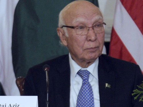 Pakistan will not allow India's regional hegemony: Aziz