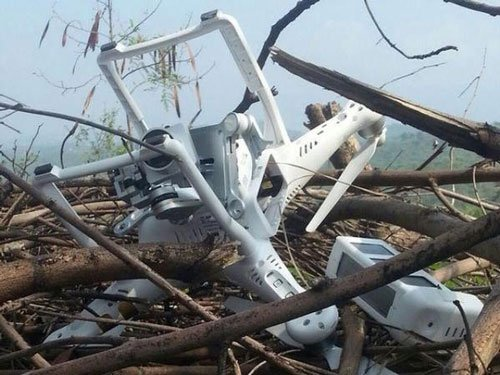 Drone of Chinese make, Pakistan shifting blame, says India