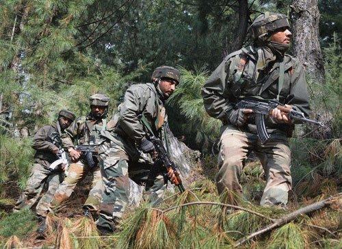 Pakistan violates ceasefire again ..