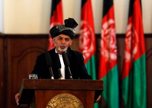 Afghan president slams Pakistan over recent Kabul attacks