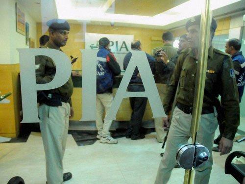 Pakistan Airlines office vandalised