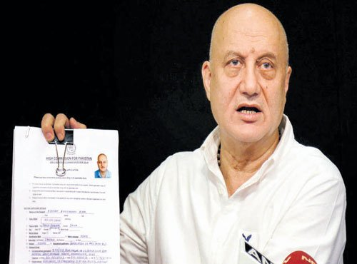 Pakistan denies visa to Anupam Kher for second time in a year