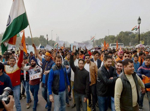 Video: ABVP members shouted pro-Pakistan slogans?