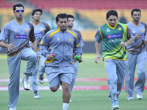Top Pakistan players struggle to prove fitness